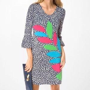 Lilly Pulitzer Angie Leaf Print Dress